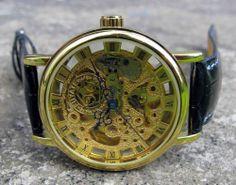Armbandsur Fuyate - Jia Gold  #fuyate #skeleton #armbandsur #klocka #klockor #herrklocka #herrklockor #runns #watch #watches