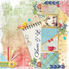 Blossoms Of Life by Eudora Designs Template by Just Jaimee Photo Elena Yaschenko