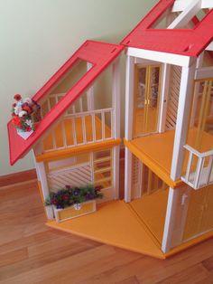 1978 Barbie Dream House Yellow Patio Floor. by boxoftoys on Etsy