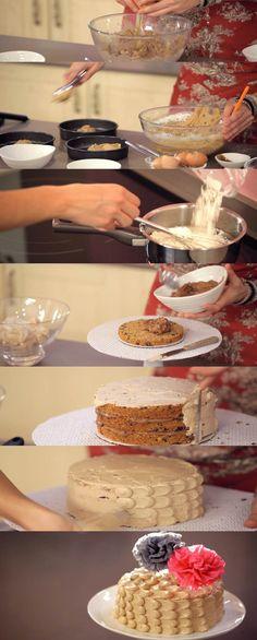 Programa 6 de Cupcake Maniacs: Tarta de Cookies & Cream