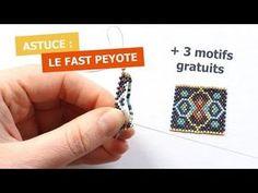 Tip: Bead weaving in Fast Peyote Beaded Jewelry Designs, Bead Jewellery, Jewelry Patterns, Bracelet Patterns, Beading Patterns, Beading Techniques, Beading Tutorials, Peyote Stitch Patterns, Thread Bracelets