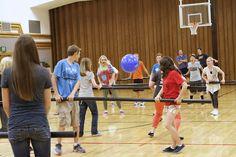 human foosball :) fun for youth activity