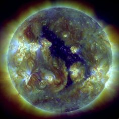 Don't panic, but there's a giant hole in the sun
