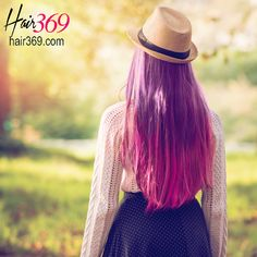 It's Monday -- happy day! Especially if you got healthy, beautiful hair like this one. See? We can't get enough of purple and pink hair for sure. 😂😂😁😇 Don't forget to shop your #hairvitamins at hair369.com. Use our special promo code GET10 and enjoy 10% discount!  #pink #purple #haircolor #glam #longhairdontcare #hair #haircolor #haircolour #pinkhair #purplehair
