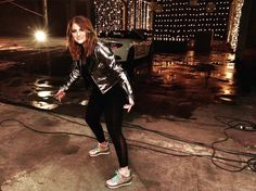 On set with Meghan Trainor for the NEW #MTrainSKECHERS commercial! https://www.skechers.com/en-us/search?t=originals