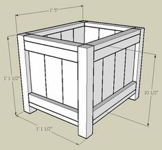 DIY Planter Box, version 3 by Vincent Ma, via Flickr