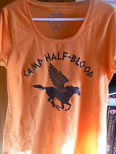 Camp Half-Blood T-Shirt (Womens). $22.00, via Etsy.  Or this one:)......need