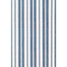 Lighthouse Denim/White Indoor/Outdoor Rug
