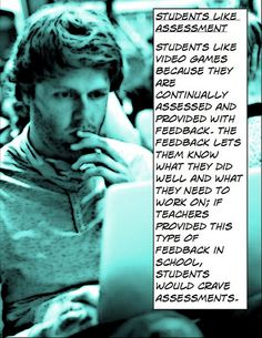 "Educational Postcard: ""Students like assessment"""