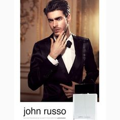 Our #Brazilian export Gui for celebrity photographer John Russo's new fragrance #dulcedo #malemodel #brazil #johnrusso #madeinbrazil
