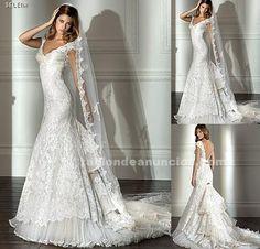 traje de novia flamenca
