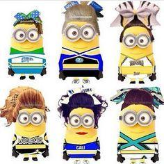 Cheer Minions!!!!!!!! Where is pro spirit?
