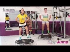 Skip Jump MIX 12 - by Tatiana Trévia - YouTube Trampoline Workout, Workout Videos, Workouts, Rebounding, Things That Bounce, Physics, Basketball Court, Health Fitness, Rebounder Workout