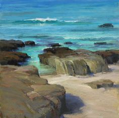 "Kim Lordier American Painter.""Seascapes"" Facebook"