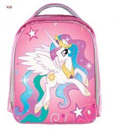 Moive My Little Pony Pink Waterproof Backpack Students School Bag For Girls Boys Rucksack Mochila Children Customize