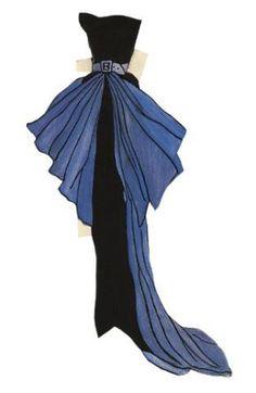 Paper dolls: As primeiras criações de Yves Saint Laurent em exposição virtual!* The International Paper Doll Society Arielle Gabriel artist #QuanYin5 Twitter, Linked In QuanYin5 *