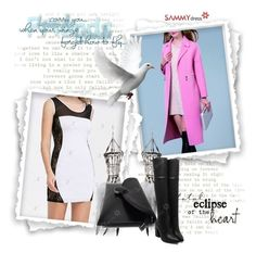 """SAMMYdress9-winter fashion"" by gold-phoenix ❤ liked on Polyvore featuring Clemmie Watson"