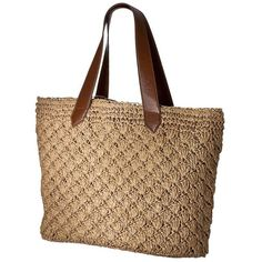 Natural Paper Crochet Tote and other apparel, accessories and trends. Browse and shop 8 related looks.