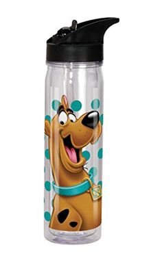 Spoontiques Scooby Doo Flip Top Bottle Clear *** Details can be found by clicking on the image.Note:It is affiliate link to Amazon.