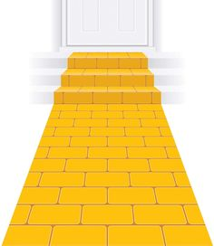 "Beistle Yellow Brick Road Novelty Aisle Floor Runner Princess Decorations Party Supplies, 24"" x 10'"