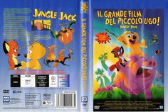 Jungle Jack - Il grande film del piccolo Ugo! (Jungledyret 2 - Den store filmhelt, 1996), Dvd cover Ita (3198x2146)
