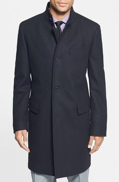 Free shipping and returns on BOSS HUGO BOSS 'The Sintrax' Wool Blend Coat at Nordstrom.com. A fine virgin-wool blend forms a smart, well-made coat designed to withstand changing conditions.