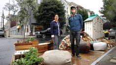 Here Now, Dumpsters, Old Cars, and Other Quirky 'Parklets'
