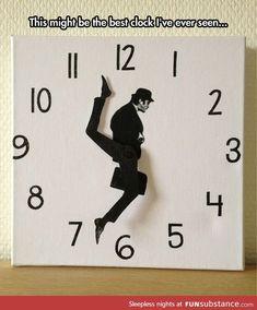 Silly walk clock