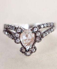 Ritual Solitaire Ring. This needs to be my wedding ring.