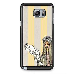 Let Go Of Negative Fellings TATUM-6441 Samsung Phonecase Cover Samsung Galaxy Note 2 Note 3 Note 4 Note 5 Note Edge