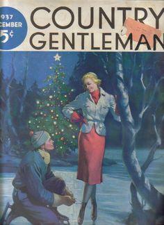 Old Magazine Country Gentleman Magazine Dec 1937 | eBay