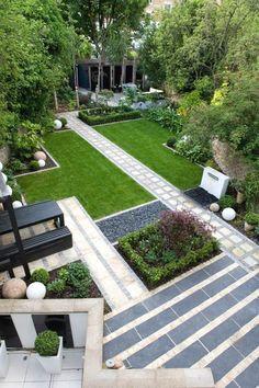 Modern Landscaping By Anthony Paul Landscape Design: Modern Japanese Garden Design North London Small Backyard Landscaping, Modern Backyard, Modern Landscaping, Landscaping Design, Patio Design, Backyard Ideas, Backyard Designs, Backyard Patio, Landscaping Software