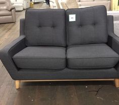 G Plan Vintage The Fifty Three Small 2 Seater Sofa Tonic Charcoal New Ebay