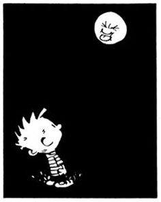 Calvin and Hobbes, one of those nights...                                                                                                                                                     More