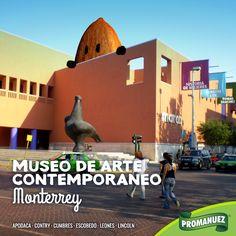Conoce el Museo de Arte Contemporaneo en #Monterrey. Uno de los más importantes en Latinoamérica.😄