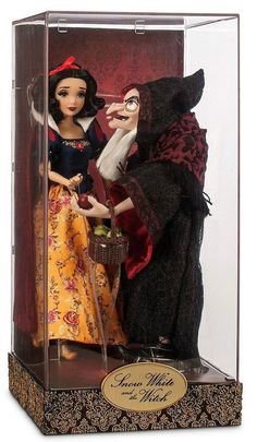 DISNEY FAIRYTALE DESIGNER SNOW WHITE & WITCH HAG DOLLS HERO EVIL VILLAIN LIMITED