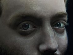 Creepy hyperrealistic paintings look closely at people's eyes | Creative Boom