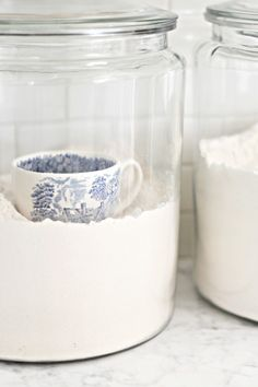 beautiful cup in the flour - desiretoinspire.net...