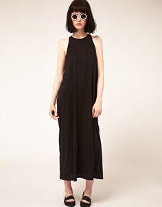 long black dress @ asos