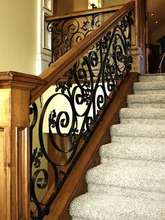 Stunning railing
