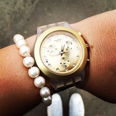 Swatch full blooded gold #swatch #watches #fullblooded #goldwatch