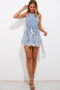 Afternoon Adventure Playsuit, $65 + Free express shipping http://www.hellomollyfashion.com/afternoon-adventure-playsuit.html