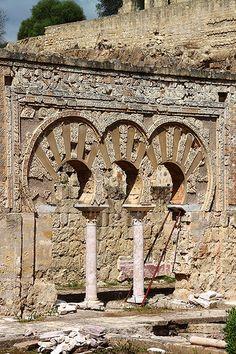 Arcos de Medina Azahara , Córdoba Andalucia Spain <arqueologia< https://www.pinterest.com/cballesta1442/arquelogia-en-espa%C3%B1a/