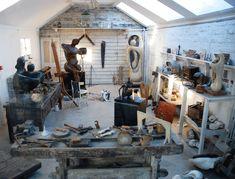 Henry Moore's Studio