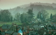 Looking over Welshpool towards Christ Church by Colin Rogers Christ, Painting, Art, Art Background, Painting Art, Kunst, Paintings, Performing Arts, Painted Canvas