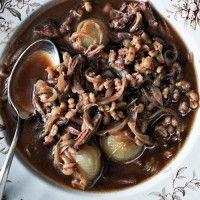Shiitake, Beef, and Barley Soup - Bon Appétit!