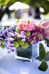 i think we should include some small arrangements for the tables. like do some big and then do some small