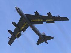 B-52H Stratofortress.                                                                                                                                                           B-52H Stratofortress - eyes up!                                           ..