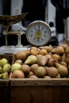 pears. love the grit of a good pear.