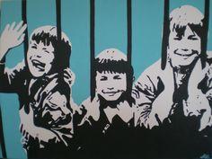 Banksy (kids in jail)
